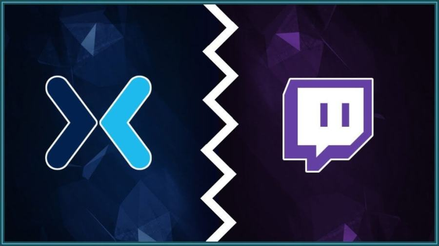 Mixer vs Twitch logos to illustrate article about Mixer's losses and successes.